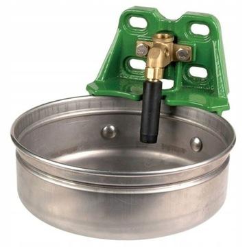 Misa misky s potrubným ventilom pre dobytok 5 l