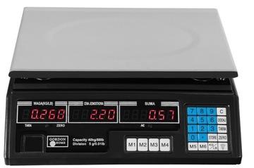 Elektronický LCD výpočet 40 kg