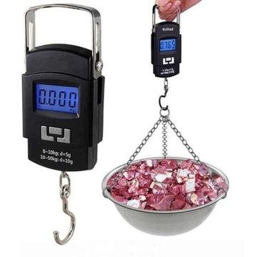 HAKOWA Hmotnostný batožinový výlet Rybolov LCD 50 kg