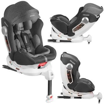 Ricokids Car Seat 0-36kg Rotary 360 °