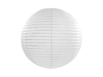 Papier Lantern, biela guľa, 35 cm dekorácie