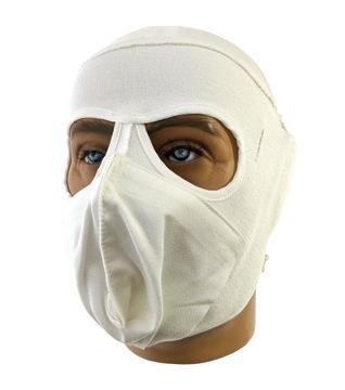 Org. Maska extrémne chladné počasie uk Mk.2 biele nové