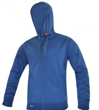 Pracovné oblečenie pletené s Hood Comfort Blue M