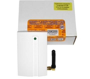 SMS oznamovací modul ELMES GSM2000