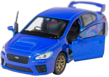 Welly - Metal Model Subruru Impreza WRX STI 1:34