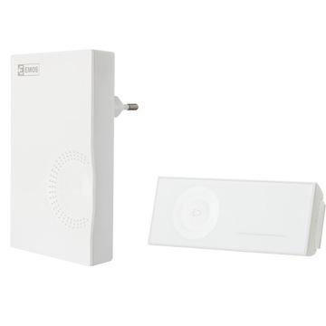 Bezdrôtový bezdrôtový domový zvonček bez batérií