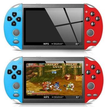 Prenosná konzola RX7 - 300 Hry PSP Retro MP5