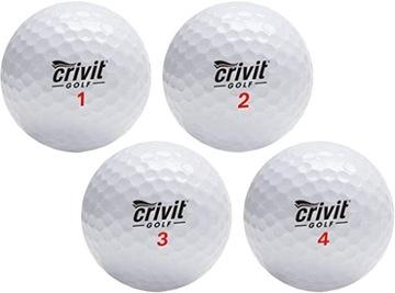 Golf Ball Crivit Gold Kit 12SZTUK