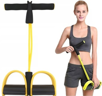 Expandér na nohách na cvičenie brušnej stehno fitness