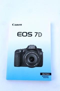 Canon 7D Manuál / Nemec