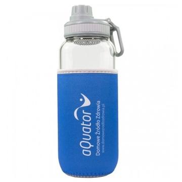 Aquater Sklenená fľaša - pre ionizovanú vodu - 1L