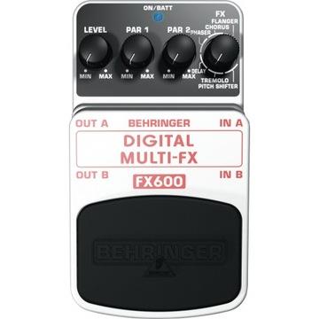 BEHRINGER FX600 DIGITAL MULTI-GUITAR EFEKTU