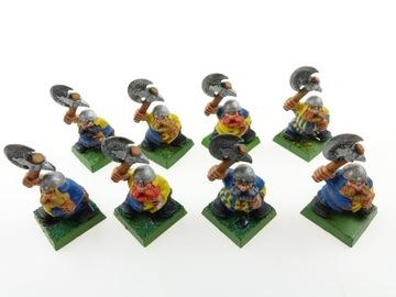 Warhammer Twarf Warriors set 8 obrázkov