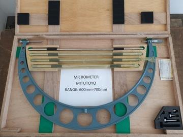 MITUTOYO 600-700mm Vonkajší mikrometer 104-145