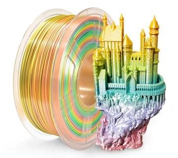 Sunlu Play 1.75mm 1kg Silk Rainbow Silk Rainbow