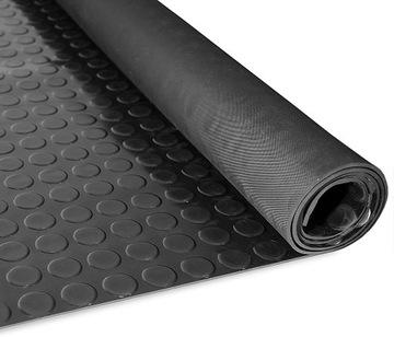 Gumová doska koberec rohož 3 mm, guma metrom