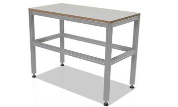 Pracovný stôl 50x100 cm od profilov 40x40