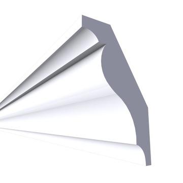 Laminátová stropná rímsa, fazetovaná LSUC19 12X7