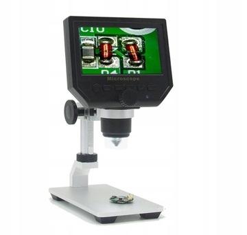 Digitálny mikroskop 600x + LCD + 8LED BTE-553 Statív