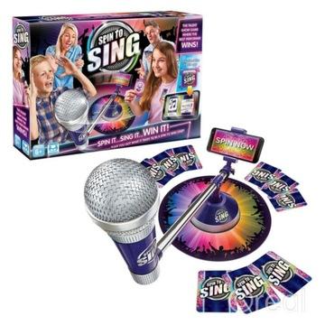 Interaktívna hra Spinovať spievať ruletové talenty