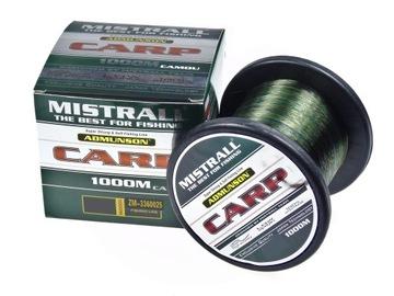 Mistorl Amundson Carp Camou 0,25 mm / 1000m