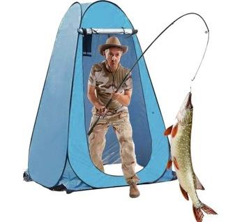 Rybársky stanový stanový sprchový kút