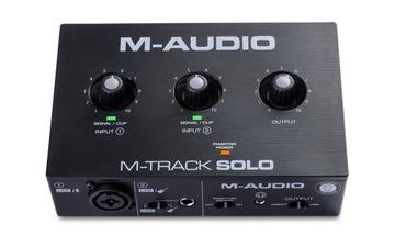 M-AUDIO M-TRACK SOLO - USB AUDIOURE