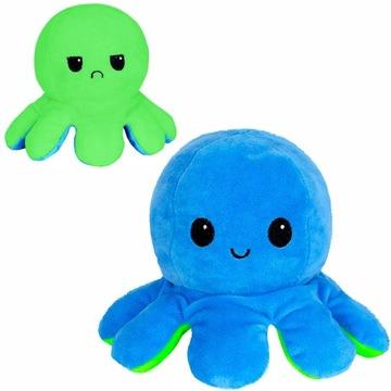Maskot plyšový chobotnica obojstranná plyš