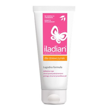 ILADIAN pre dievčatá gél na intímnu hygienu 150 ml