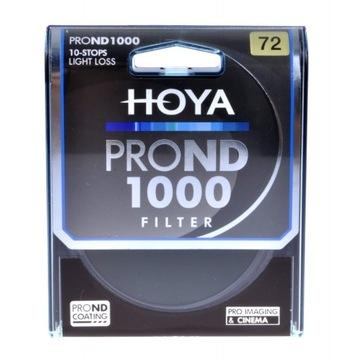 Gray Hoya Pro ND 1000 72 mm Filter