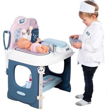 Centrum starostlivosti o deti Smoby Babysitter + bábika