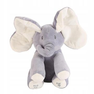 INTERAKTÍVNY ELEPHANT AKUKU PLUSH BEAR SPIEVA HRU