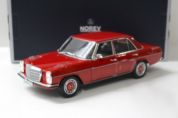 MERCEDES 200/8 W115 - 1973 Red Norev 1:18