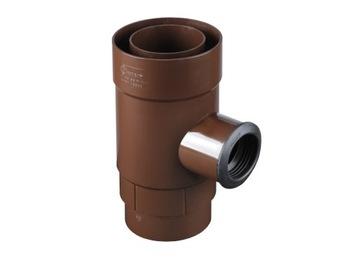 Zberač vody, zberač dažďovej vody 90/50 Bronz 8017