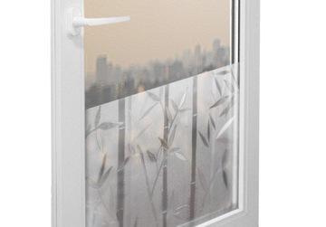 Statická okenná fólia na sklo 67x150 cm