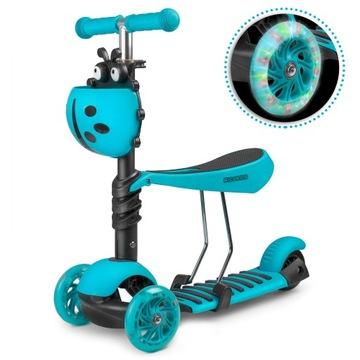 Detská trojkolka Balance Scooter LED 2v1