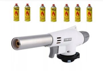 Keramický plynový horák + 7x plynová spájkovacia lampa