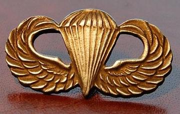 Odznak Airlborne Americké krídla