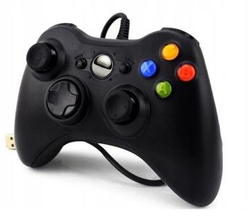 Pad Gamepad do Xbox 360 káblového USB regulátora