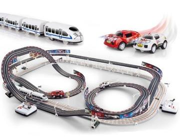 Racetrack Giant Electric Queue + vlak