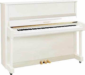 Yamaha B3 E PWH - Akustické klavírne biele lesk