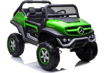 Batériové auto Mercedes Unimog Green