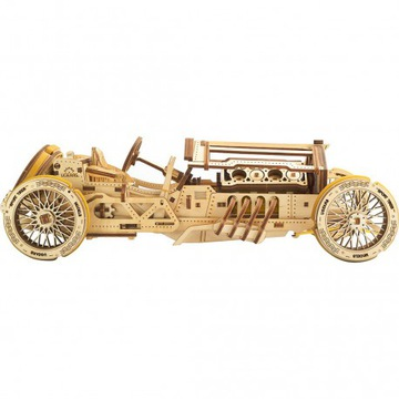 3D puzzle auto U-9 Grand Prix Uchars Model