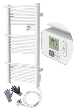 Elektrický radiátorový rebrík termostat 500W LCD