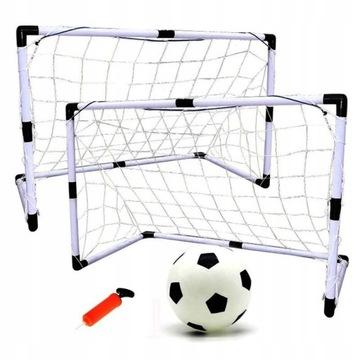 2 futbalové ciele 2 x120 cm + guľôčka + kotvy