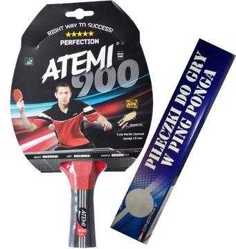 Raketa na stolný tenis ATEMI 900 + zdarma