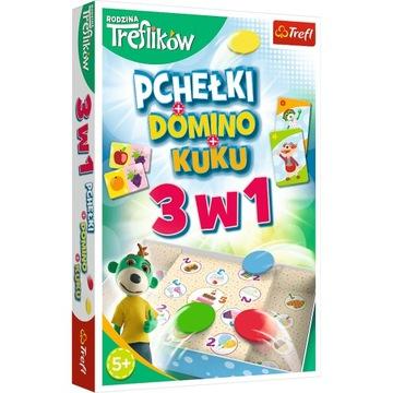 HRA - Trefliki 3v1 Domino Pchełki Kuku 01921