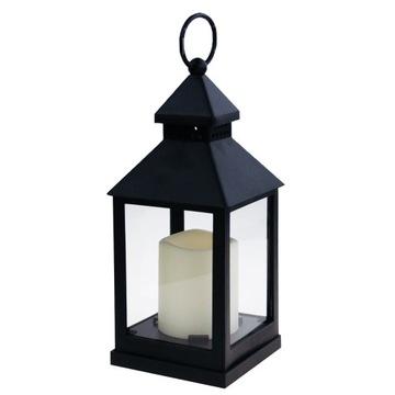 Lantern Lighthouse Black pre domácu záhradu Rorata