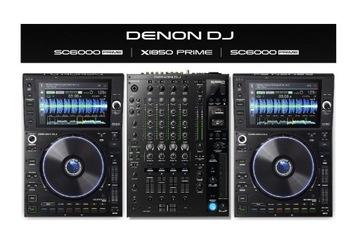 DENON DJ 2X SC 6000 + X1850 PRIME Sada 0% splátok