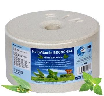 Multivitamín Bronchiálne minerálne porazené, 4x 3kg